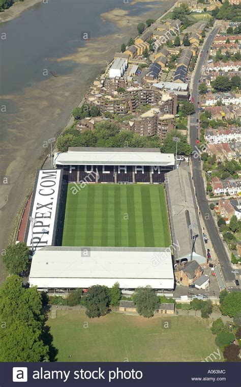 fulham cottage at craven cottage stock photos at craven cottage stock