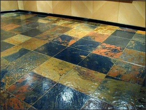 African Multicolor Slate Floor Tiles, Wall Tiles from