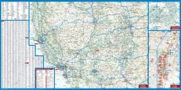 southwest us driving map map of southwest usa usa 2 borch map mapscompany