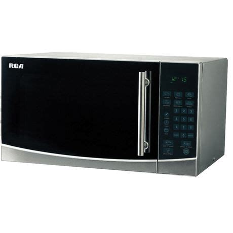 Walmart Countertop Microwave Ovens by Rca 1 1 Cu Ft Countertop Microwave Stainless Steel