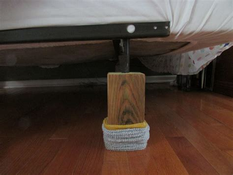 bed frame risers lowes one of the best home projects we did created bed