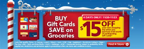 Safeway Disneyland Gift Cards - safeway gift card promo buy 100 in gift cards get 15 catalina 11 20 11 23