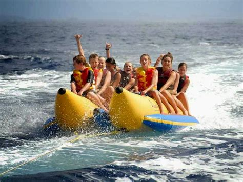 banana boat ride bali tempat wisata di bali banana boat tanjung benoa bali