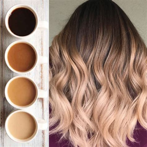 color hair with coffee these 3 coffee inspired colors will give you