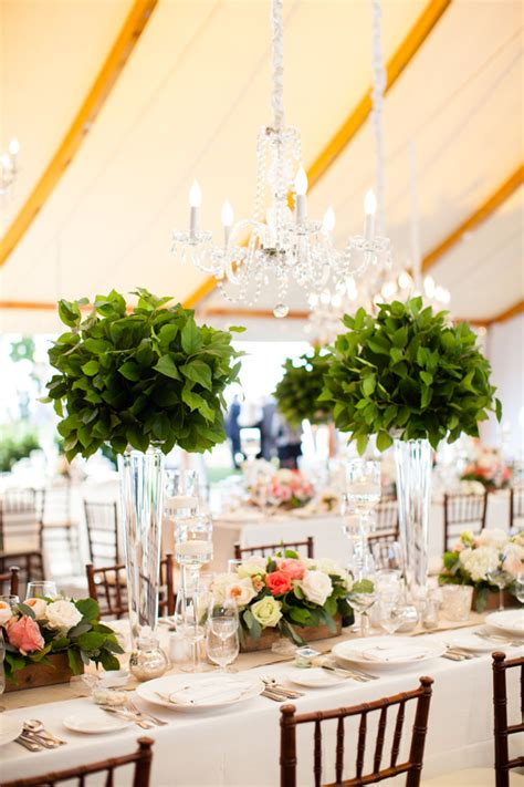 Topiary Centerpieces With Greenery Elizabeth Anne Greenery For Wedding Centerpieces