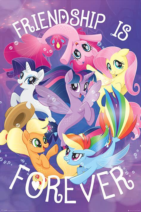 My Pony Rarity Friends Original Hasbro my pony the poster print