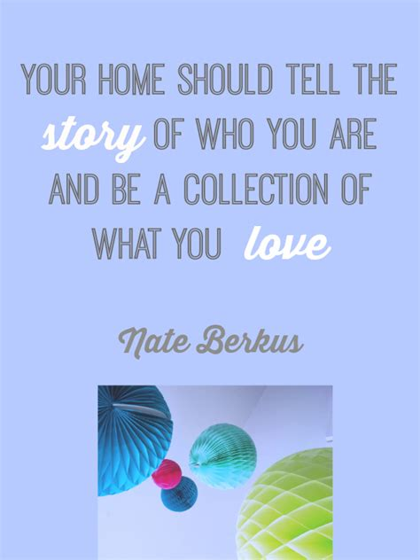 home design lover facebook design quote your home nate berkus love chic living
