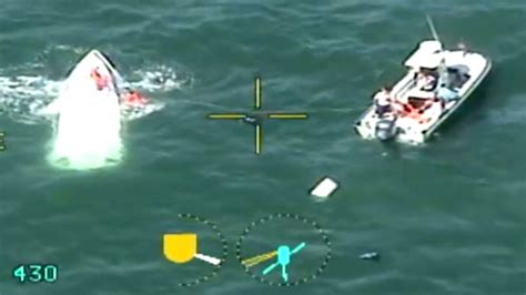 sinking boat florida 7 rescued from sinking vessel off florida coast nbc news