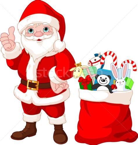 imagenes de santa claus infantiles santa claus and gifts vector illustration 169 anna