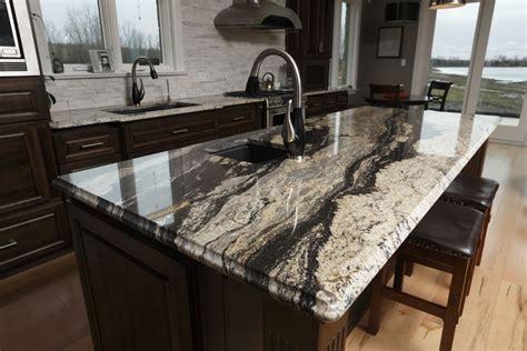 Dark Kitchen Cabinets With Black Appliances Silver Supreme Granite Progressive Countertop My