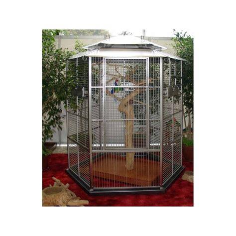 voliera da giardino voliera da esterno per pappagalli in acciaio inox modello