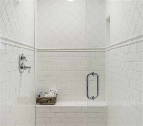 chair rail in bathroom chair rail tile design ideas