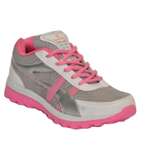 twd pink sports shoes