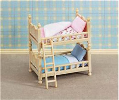 Sylvanian Bunk Beds Calico Critters Cc1507 Wilder Panda Family New Factory Sealed Cc1507 24 95