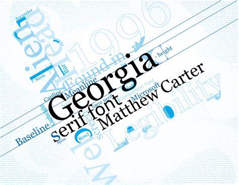 georgia font free download