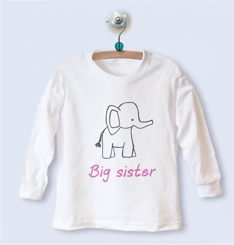 big sleeve top with elephant design withcongratulations