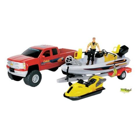 cabela s boat flyer cabela s chevy silverado bass fishing boat playset