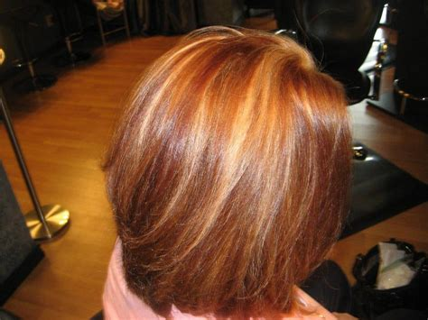 natural red hair with highlights and lowlights highlights and lowlights in your hair