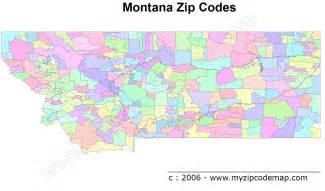 Montana Zip Code Map montana zip code maps free montana zip code maps