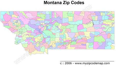 map usa states cities zip codes montana zip code maps free montana zip code maps