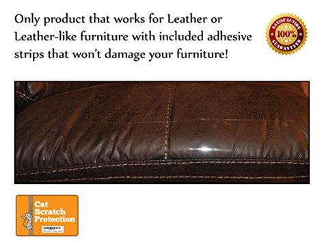 how to get dog scratches out of leather couch cat scratch protection on any couch sofa or chair works