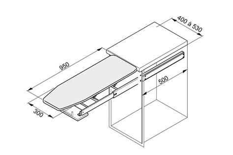 table 224 repasser escamotable pour meuble bas accessoires