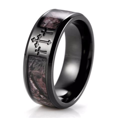 Collection titanium camo wedding bands   Matvuk.Com