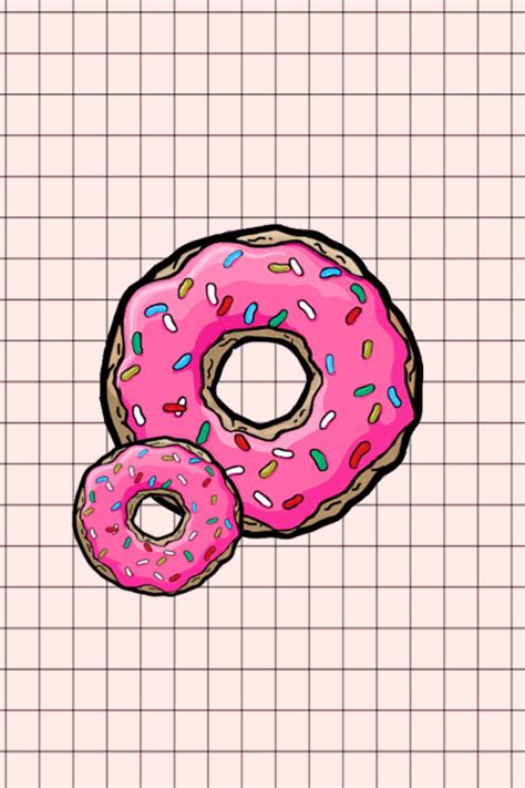 donut background donut wallpaper