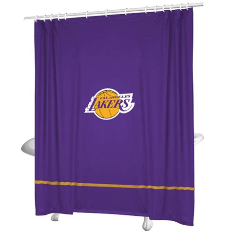 basketball curtains nba los angeles lakers basketball bathroom shower curtain
