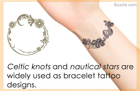 strikingly amazing bracelet tattoo designs to carry with pride