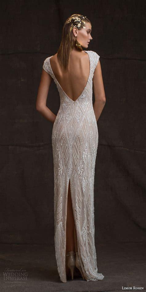 beaded back wedding dress limor 2016 wedding dresses treasure bridal