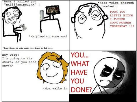 Fuck You Kid Meme - rage comic