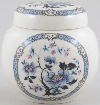 blue pattern ginger jar sadler unidentified pattern blue with colour ginger jar
