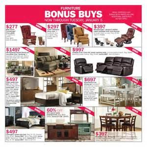 carson s weekly ad after furniture sale dec