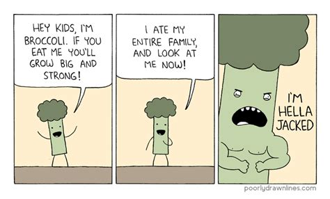 Hella Funny Memes - poorly drawn lines broccoli