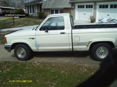 1990 Ford Ranger by 1990 Ford Ranger Xlt Lariat 6 Cyl Auto Ac