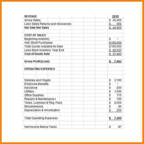 business statement template 5 business financial statement template pay statements