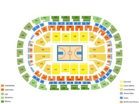 oklahoma city thunder seating chart chesapeake arena okc seating chart brokeasshome