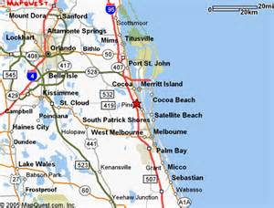 melbourne florida map quotes