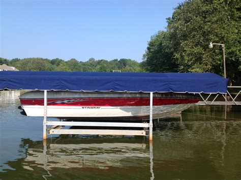 boat lift us installation instructions covertuff replacement canopy lift covers boat lovers direct