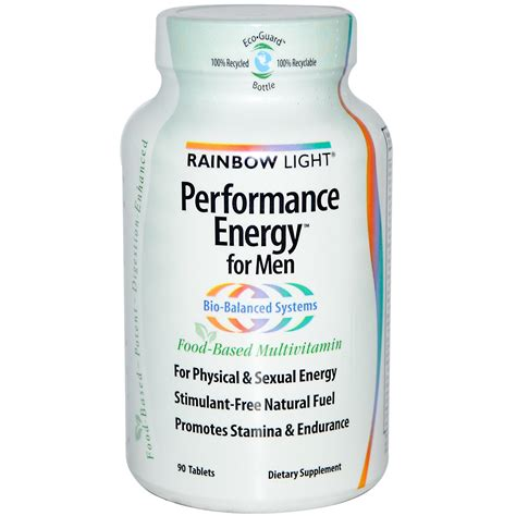 rainbow light performance energy for rainbow light performance energy for men food based