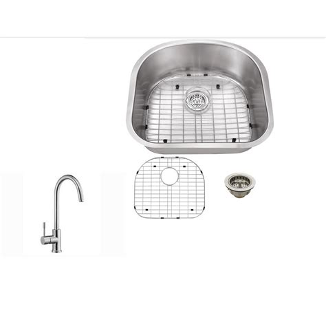 kitchen sink company ipt sink company undermount 23 in 16 gauge stainless