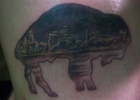 buffalo tattoo tattoo ideas pinterest