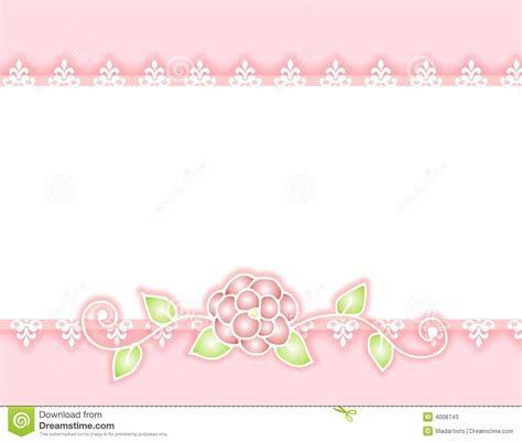 pink pattern border pink rose border clipart clipart suggest