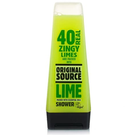 Shower Gel by Original Source Lime Shower Gel Toiletries 163 2 05