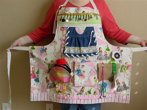 pattern for activity apron reserved listing busy lady s fidget apron by