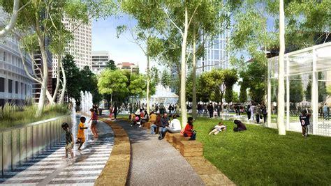 Civic Center Floor Plan by Transbay Transit Center Pwp Landscape Architecture