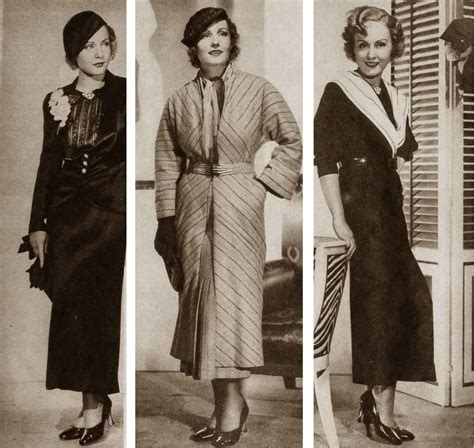 1930s fashion women s dress and hairstyles glamourdaze 1934 clothing styles for women image gallery 1930 clothes