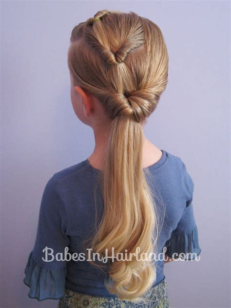 easy triple braided hairstyle babes in hairland triple flipped ponytail hairstyle babes in hairland
