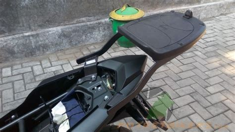 Box Givi Motor Cb 150 R pasang bracket givi di all new honda cb150r stallion black